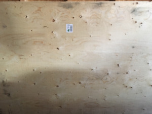 "Standard Spruce Plywood 4ft X 8ft X 5/8""& 3/4"""
