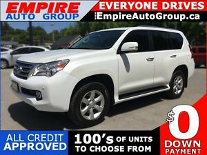 2011 LEXUS GX 460 LUXURY * 4WD * LEATHER * SUNROOF * NAV * REAR