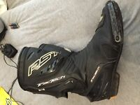 RST tractech motorbike boots leather