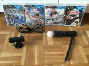 *Ensemble ps move - caméra - Fifa - Kung Fu - MLB etc..- 50$
