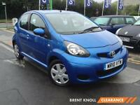 2010 TOYOTA AYGO 1.0 VVT i Blue GBP20 Tax Low Miles Isofix Low Insurance