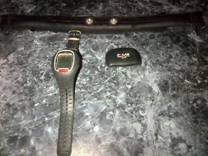 Polar RS100 heart rate - watch - stop watch monitor