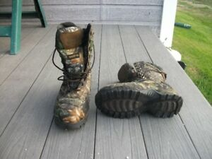 Bottes camouflages
