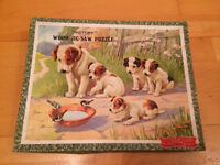 Vintage victory dogs jigsaw