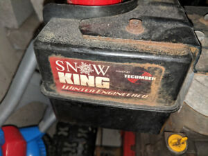 "Snow King Snow Blower 24"" 200$"