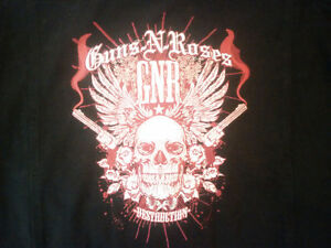 GN'R Guns & Roses Black Large Embroidered Denim Jacket Prince George British Columbia image 5