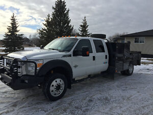 """""""SERVICE BODY WITH WASH UNIT"""" 2012 Ford F550 Crew Cab 4x4"""
