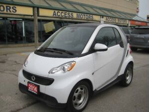 2014 Smart Fortwo, Extra clean Low Km,  quick sale !!