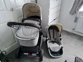 Grey mothercare journey pram