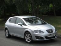Seat Leon 1.6TDI CR ( 105ps ) 2010 Ecomotive SE FSH + CAMBELT DONE @ 151K