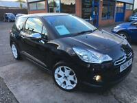 Citroen DS3 1.6HDi 90 ( Black ) 2010 DIESEL WITH JUST 43323 MILES SORRY NOW SOLD