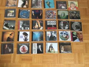 38 CD de musique francophone