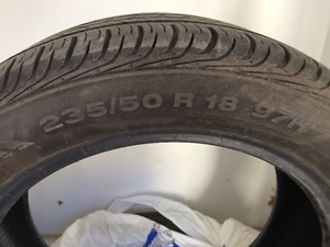 235/50 R18- Only used one season!