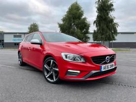 2016 Volvo V60 2.0 D4 R-Design Red