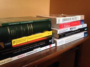 Selling Business and Political Science Textbooks