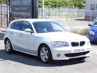 BMW 116 1.6 2005 i SE, Silver, Hatchback, 2005, 6 Months AA Warranty