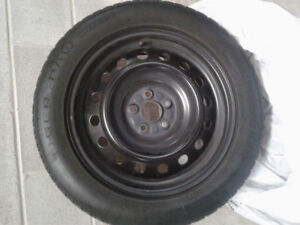 "16"" Uniroyal winter tires & Rims (4)"