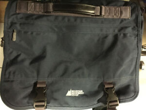 Blue MEC messenger bag