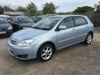 TOYOTA COROLLA 2005 1.6 VVTI T SPIRIT PETROL-AUTOMATIC-1 OWNER FROM NEW-SUNROOF