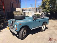 Looking for Land Rover Series 1, 2 , 3