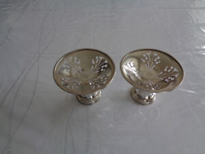 Antique silver-plate items