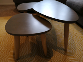 Triple set of coffee table