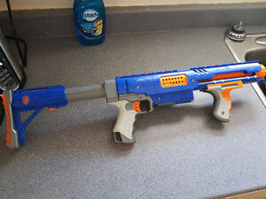 Nerf and Buzz Bee guns