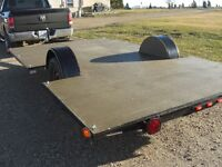 HEAVY DUTY 8 FT X 14 FT LOWRIDER TRAILER