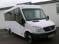MERCEDES SPRINTER 511 17S BUS AUTO MINIBUS DISABLED TRANSPORT WELFARE COIF VAN