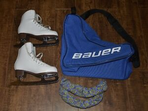 Jackson 520 Skates ..Bag and blade guards