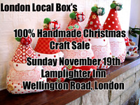 100% Handmade Christmas Sale looking for vendors