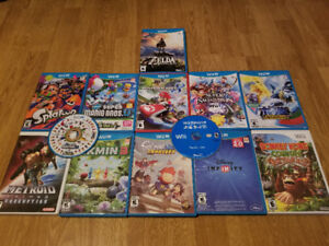 Wii U & Wii  GAMES FOR SALE