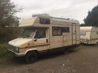 Merlin fiat Motorhome caravan 4 berth auto homes