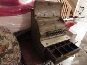 Antique/vintage national cash register