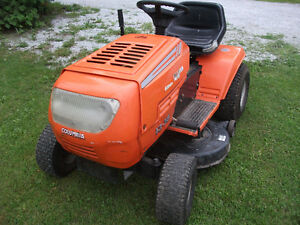 tracteur a gazon columbia 13hp