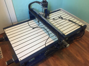 CNC Router Machine 3 Axis w/Mach 3 - Fully Working