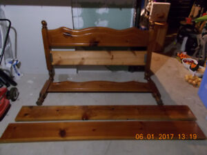 Four Post Pine bed Frame