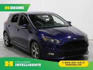 2016 Ford Focus ST TURBO MAGS CUIR A/C GR ELECT BLUETOOTH