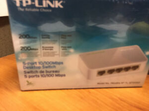 BNIB TP-Link 5 Port 10/100Mbps Desktop Switch