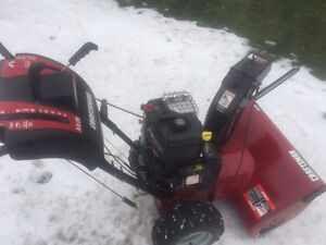 Craftsman Snowblower 9.5 hp, Electric Start