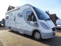 A CLASS AUTOMATIC FOUR BERTH FIXED BED DROP DOWN BED GARAGE MOTORHOME FOR SALE