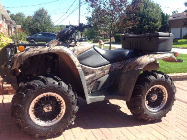 Used 2012 Honda TRX420PG Fourtrax AT