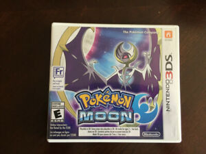 Pokemon Moon (for Nintendo 3DS) -- Excellent Condition