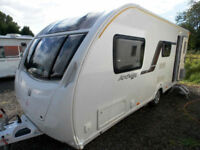 Swift Archway Ruby Barnwell 2013 4 Berth Centre Dinette Touring Caravan