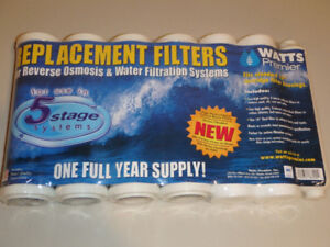 Watts Water Filtration System - Replacement Filters
