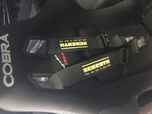 Cobra racing seats w 5point harnesses