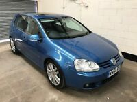 Vw Golf 2.0 GT TDI 6 Speed, Dual Climate Control, Sun roof, Alloys, 12 Month Mot 3 Month warranty