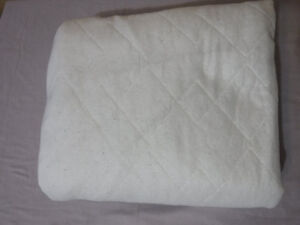 Queen fitted mattress pad
