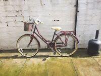 Almost new heritage bike