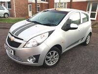 Chevrolet Spark LS 1.0 2010, 38,000 Miles, Service History, £30 Road Tax